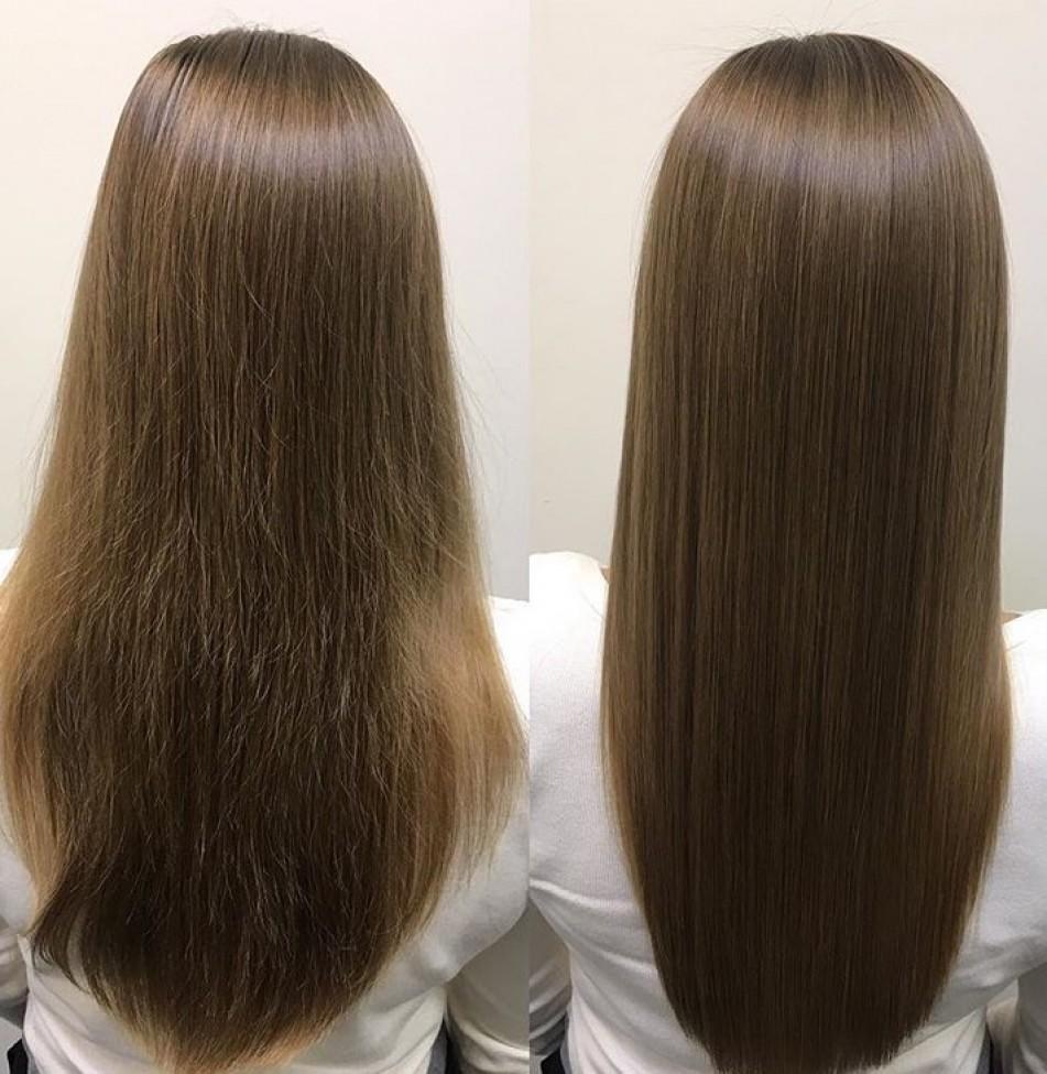 что такое кератиновое восстановление волос фото чтобы была ясная